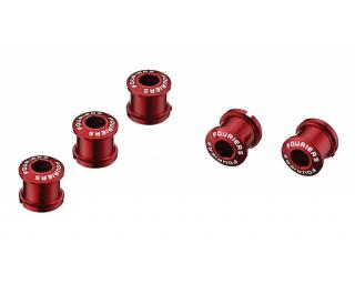 Fouriers Chainring bolts Red