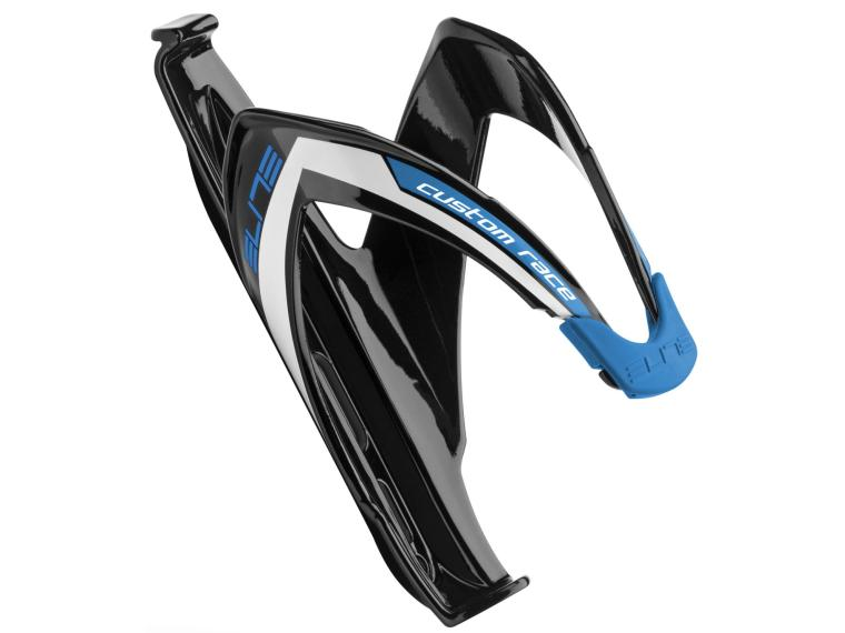 Elite Custom Race Bottle Cage Black / Blue