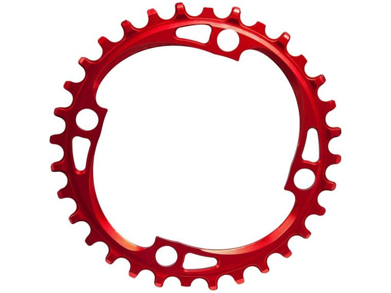 AbsoluteBLACK Narrow Wide Chainring Red