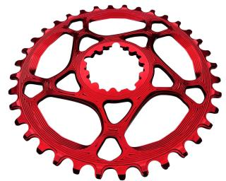 AbsoluteBLACK Spiderless Sram Narrow-Wide Chainring Red
