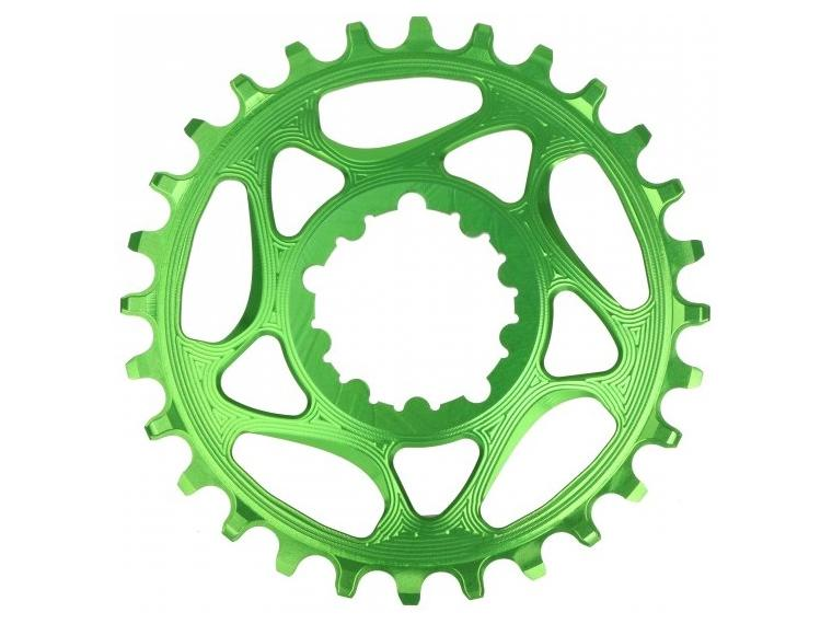 AbsoluteBLACK Spiderless Sram Narrow-Wide Chainring Green