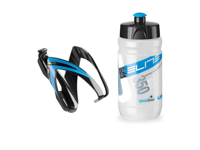 Elite CEO Child Set Bottle + Cage Blue