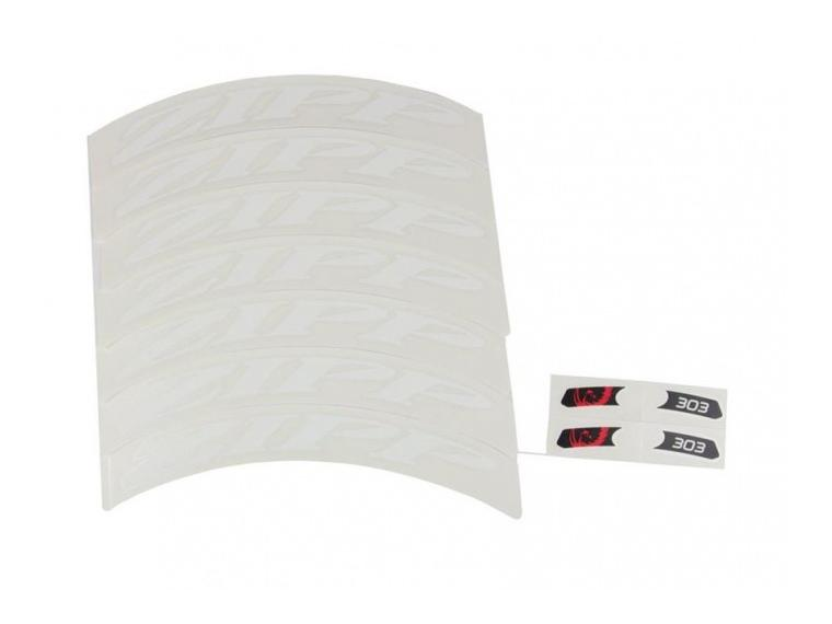 Zipp Decal set 303 Matte White