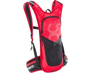 Evoc CC 3L Race + 2L bladder Backpack Red
