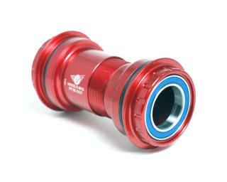 Wheels Manufacturing Inc. PF30 Enduro Bearings Abec 3 Red