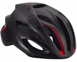 MET Rivale Helmet Matt Black / Red