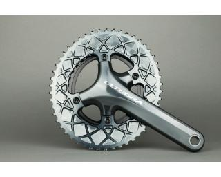 AbsoluteBLACK Premium Line Oval 110*4 Chainring Grey