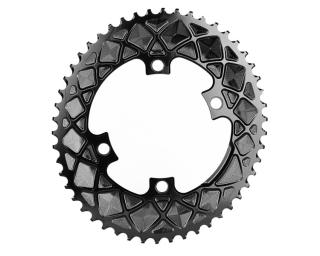 AbsoluteBLACK Premium Line Oval 110*4 Chainring Black