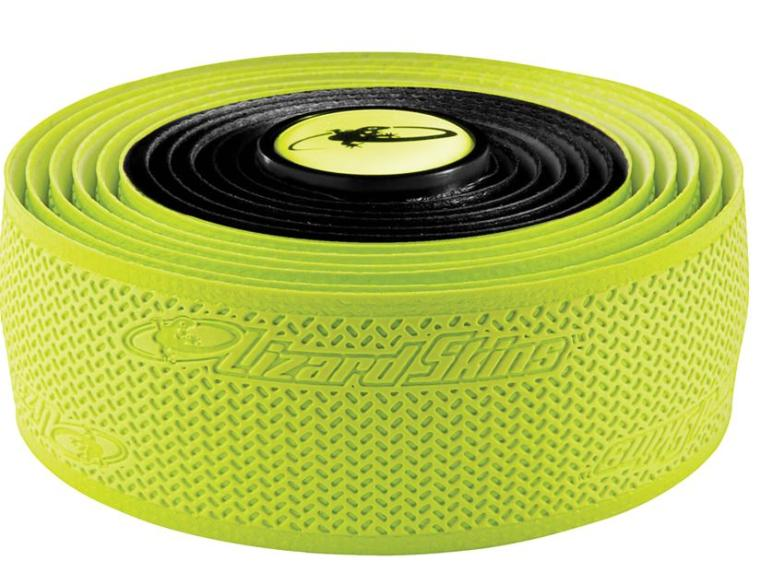 Lizard Skins Durasoft Polymer 2.5 Dual Colour Handlebar Tape Neon Yellow / Black