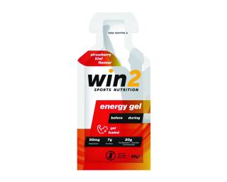 WIN2 Energy Gel Strawberry Kiwi Fruit
