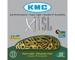 KMC X11SL 11 speed Goud