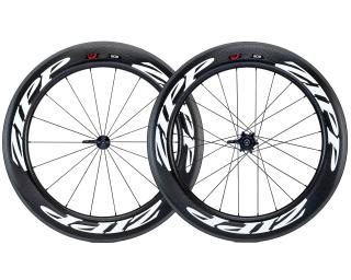 Zipp 808 Firecrest Carbon Clincher Road Bike Wheels White