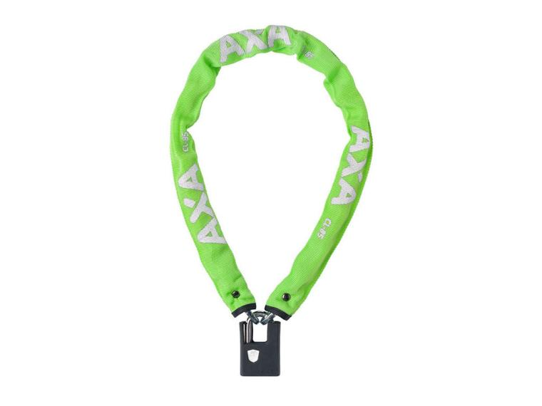 Axa Clinch Soft Chain Lock Green
