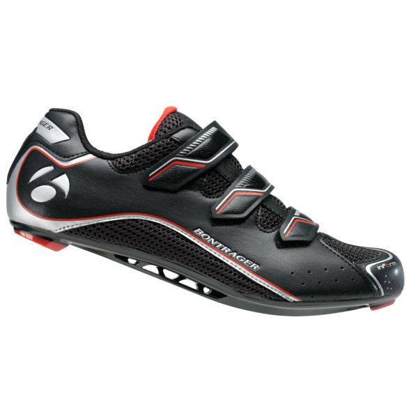 Bontrager Chaussures Noires Avec Velcro Pour Les Hommes v6L63yPHn4