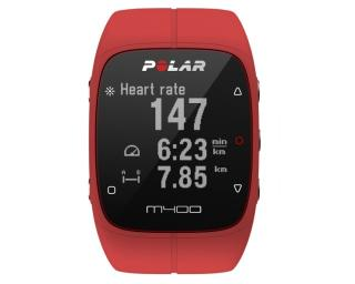 Polar M400 HR incl. Hartslagband Rood
