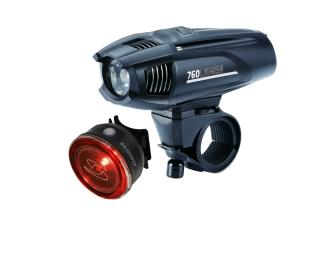 BBB Cycling BBB Cycling strike 760 & Sigma Mono RL Powerled Verlichtingsset