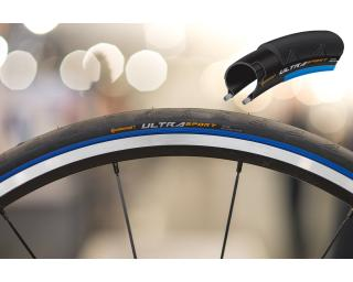Continental Ultra Sport II Racefiets Band Blauw