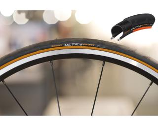 Continental Ultra Sport II Tyre Orange