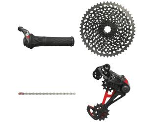 Sram X01 Eagle Upgradekit Groepset Twister / Rood