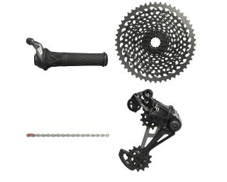 Sram X01 Eagle Upgradekit Groepset Twister / Zwart