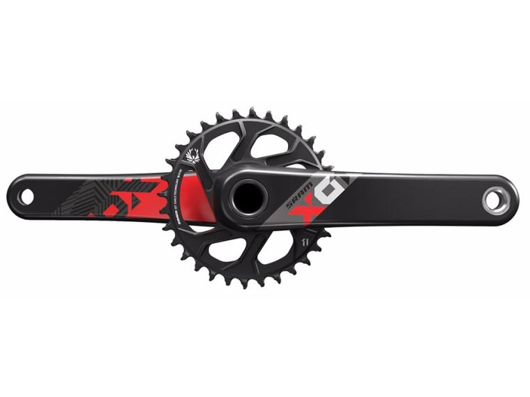 Sram X01 Eagle Crankset Red