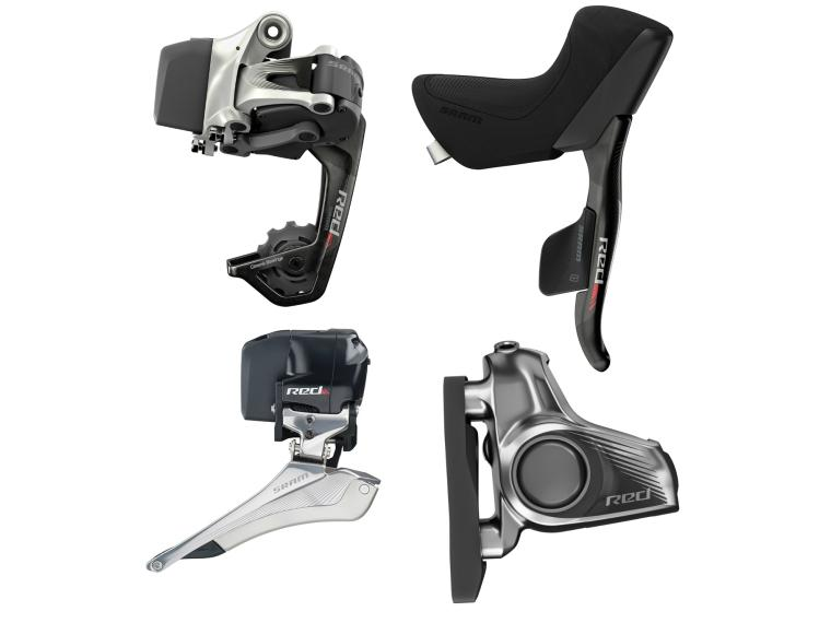 Sram Red eTAP Wifli HRD Disc Upgradekit Groupset