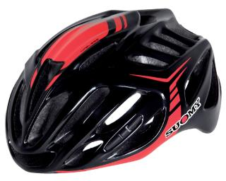 Suomy Timeless Racefiets Helm Zwart / rood
