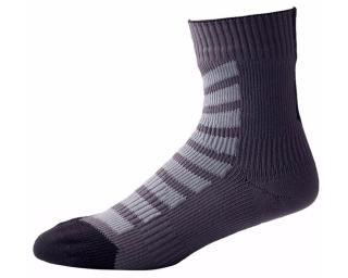 Sealskinz MTB Mid Ankle Hydrostop Socks Grey