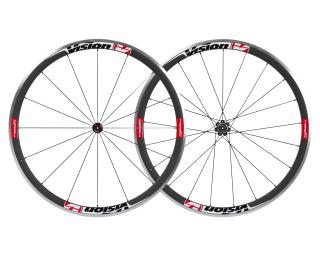 Vision Trimax Carbon 35 Racefiets Wielen Rood