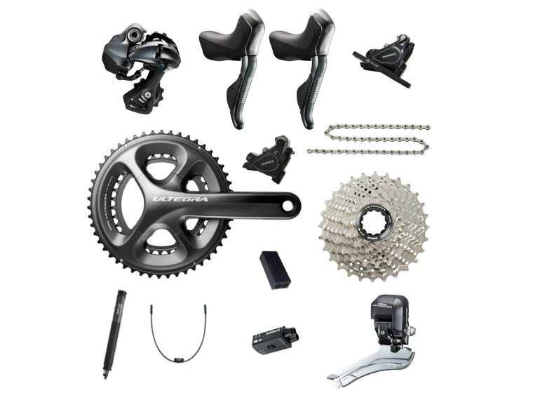 Buy Shimano Ultegra 6870 Disc Di2 Groupset | Mantel Int