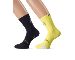 Assos Tiburu_evo8 Socks Yellow