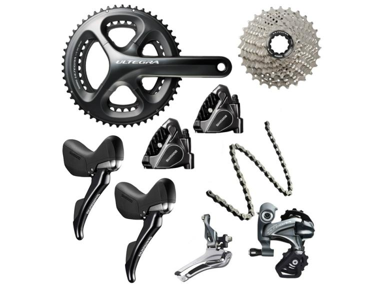 Buy Shimano Ultegra 6800 Disc Groupset | Mantel UK