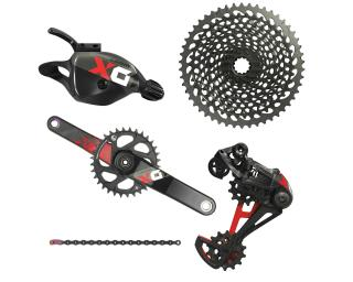 Sram X01 Eagle Groupset Trigger / Red