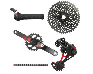 Sram X01 Eagle Groupset Twister / Red
