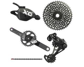 Sram X01 Eagle Groupset Trigger / Black