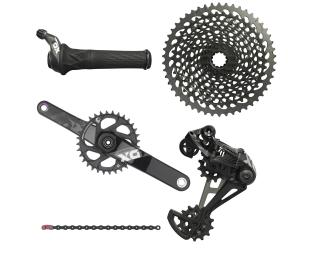 Sram X01 Eagle Groupset Twister / Black