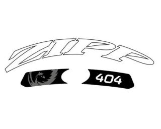 Zipp Decal set 404 White
