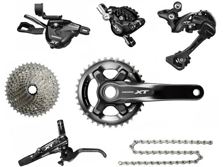 6a7f87b07b4 Buy Shimano XT M8000 1X11 Groupset | Mantel Int