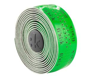 Fizik Superlight Glossy Fluor Logo Handlebar Tape Green