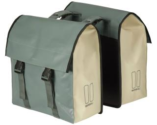 Basil Urban Load Double 53L Pannier Green