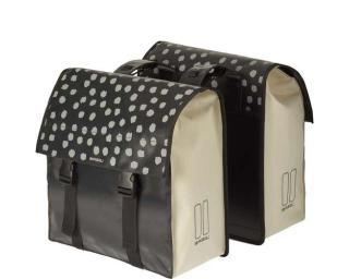 Basil Urban Load Double 53L Pannier White