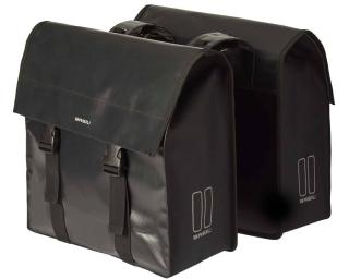 Basil Urban Load Double 53L Pannier Black