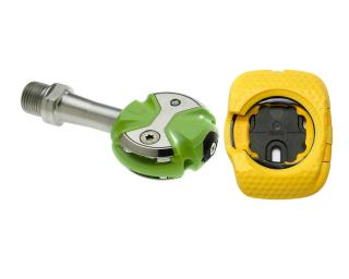 Speedplay Zero Stainless + Walkable Cleat Pedalen Groen
