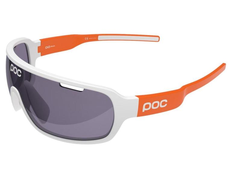 POC DO Blade Cycling Glasses Hydrogen White/Zink Orange