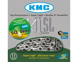 KMC X11SL pre lubed with SQ wax Ketting