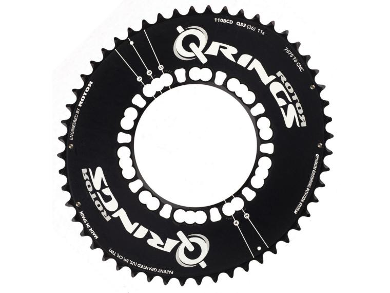Rotor Q-Ring Aero 11 speed Chainring Outer Ring
