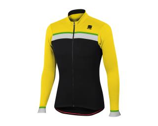 Sportful Pista Thermal Jersey Yellow
