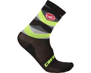 Castelli Fatto 12 Socks Yellow