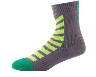 Sealskinz MTB Mid Ankle Hydrostop Socks Green