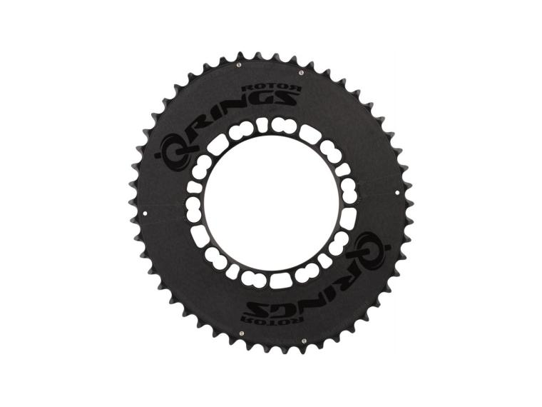 Rotor Q-Ring Limited Black Chainring Outer Ring
